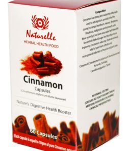Ceylon Cinnamon Capsules: Herbal Vitamin & Supplements: Digestive Health Booster