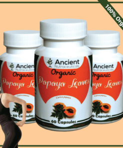 papaya-leaves Capsules/Herbal Capsules-www.myherbals.lk