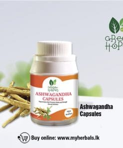 Ashwagandha Capsules/ අශ්වාගන්ධ කැප්සියුල (100 Caps)-www.myherbals.lk-ashwagandha sri lanka- ashwagandha powder price in sri lanka- ashwagandha powder in sri lanka - ashwagandha tablet sri lanka- ashwagandha buy sri lanka- ashwagandha capsules sri lanka- ashwagandharishta sri lanka- ashwagandha benefits - ashwagandha powder- ashwagandha pills sri lanka- ashwagandha capsules sri lanka