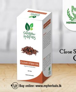 Clove Stem oil-Green Hopes-www.myherbals.lk-