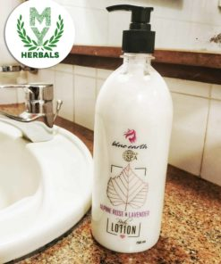 Natural Body Lotion-Rose & Lavander- Herbal Face & Body Care- www.myherbals.lk