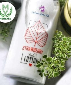 Natural strawberry Body Lotion-Herbal Face & Body Care-www.myherbals.lk
