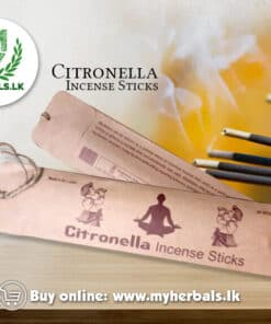 Citronella Incense Sticks is a product by Singhetharu Spice from Pure Ceylon Herbs can buy online myherbals.lk with cash on delivery service. www.myherbals.lk