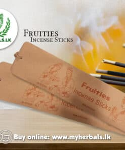 Fruities Incense Sticks-singhetharu Spice-www.myherbals.lk-
