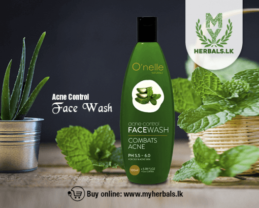 Acne Control Face Wash -O'nelle Natural-www.myherbals.lk-
