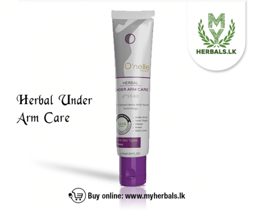 O'NELLE HERBAL UNDERARM CARE-www.myherbals.lk