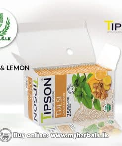 TIPSON TEA ORGANIC TULSI WITH GINGER LEMON-www.myherbals.lk