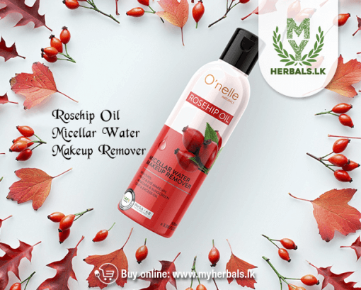 O'NELLE ROSEHIP OIL MICELLAR WATER MAKEUP REMOVER-www.myherbals.lk