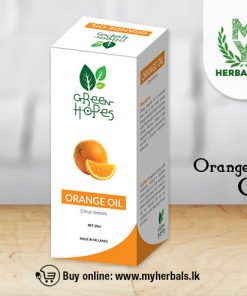 Orange oil-Green Hopes-www.myherbals.lk