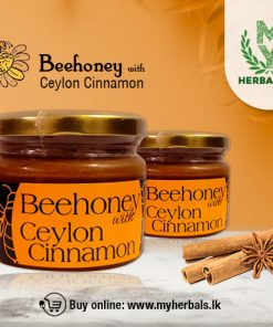 Pure Bee honey with Cinnamon--www.myherbals.lk-