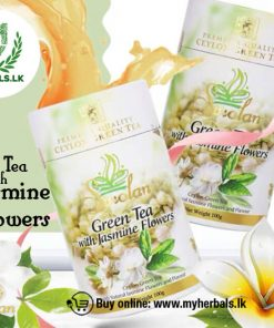 GREEN TEA WITH JASMINE FLOWERS -www.myherbals.lk