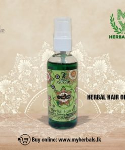 HERBAL HAIR OIL -www.myherbals.lk-
