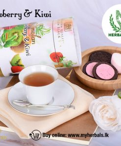 STRAWBERRY & KIWI TEA - (OP1) -Ceylon Tea-www.myherbals.lk