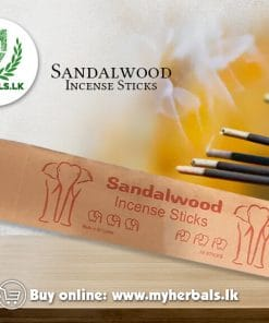 Sandalwood-Incense Sticks-Sandalwood Incense Sticks-singhetharu Spice-www.myherbals.lk-